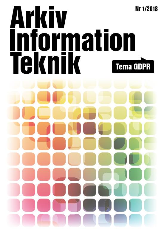 Arkiv Information Teknik 2018 nr1