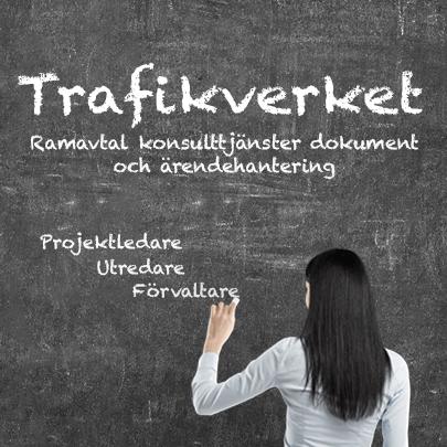Trafikverket - Ramavtal konsulttjänster dokument och ärendehantering