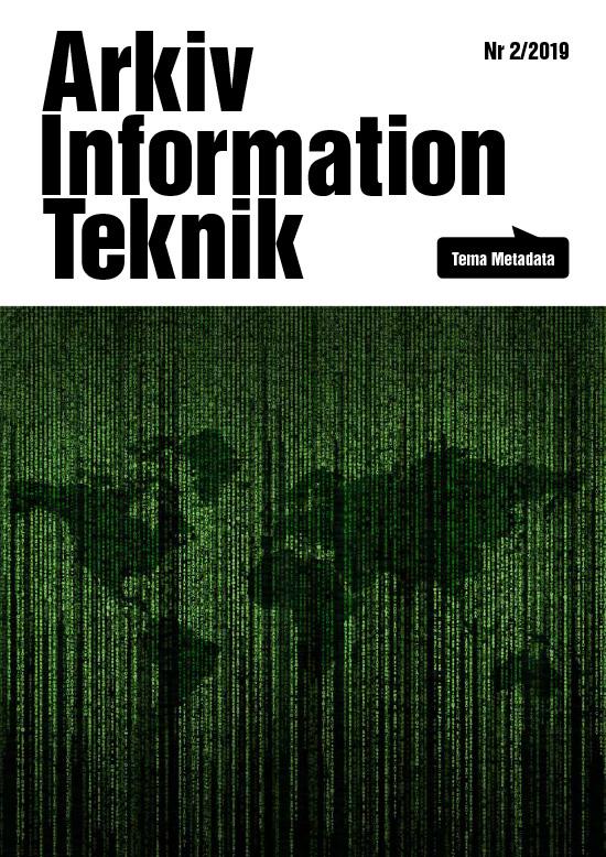 Arkiv Information Teknik 2019 nr2