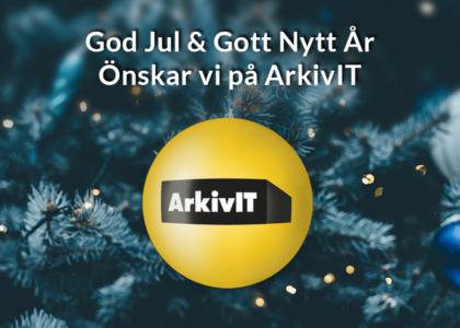 God Jul & Gott Nytt År från ArkivIT