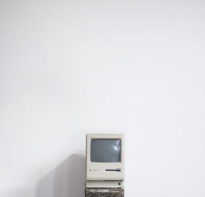 En äldre dator